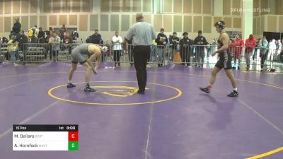 Final - Matthew Dallara, Buies Creek RTC vs Alex Hornfeck, West Virgina-UN