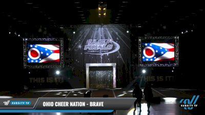Ohio Cheer Nation - Brave [2021 L1.1 Mini - PREP - D2 - B Day 1] 2021 The U.S. Finals: Louisville