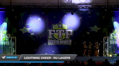Lightning Cheer - NU Lakers [2019 International Open - Small Coed 5 Day 2] 2019 Feel The Power East