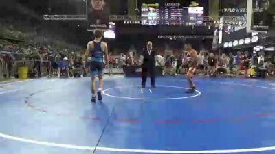 120 lbs Round Of 128 - Ethan Nguyen, Washington vs Jett Strickenberger, Colorado
