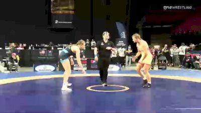 72 kg Semis - Yelena Makoyed, Cardinal Wrestling Club vs Kylie Welker, Titan Mercury Wrestling Club