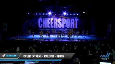 Cheer Extreme - Raleigh - Blush [2021 L5 Senior - Large Day 1] 2021 CHEERSPORT National Cheerleading Championship