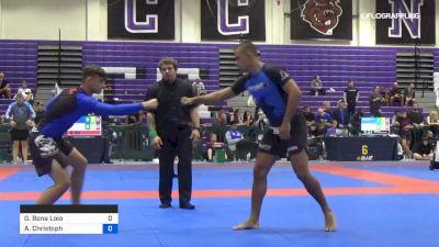 Gabriel Bona Loio vs Andrew Christoph 2019 Pan IBJJF Jiu-Jitsu No-Gi Championship