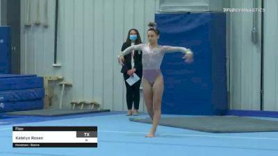 Katelyn Rosen - Floor - 2021 American Classic and Hopes Classic