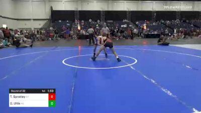 126 lbs Prelims - Troy Spratley, NY vs Owen Uhls, MO