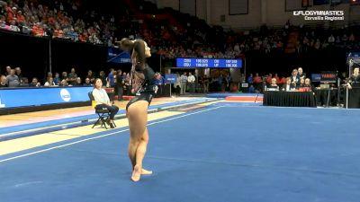 Kaitlyn Yanish - Floor, Oregon State - 2019 NCAA Gymnastics Regional Championships - Oregon State