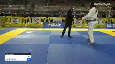 GERALDO TEIXEIRA vs MATTHEW KRAMER 2020 World Master IBJJF Jiu-Jitsu Championship
