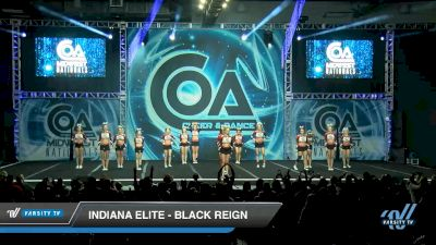 Indiana Elite - Black Reign [2020 L6 Senior - XSmall Day 1] 2020 COA: Midwest National Championship