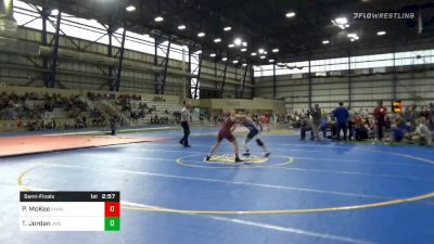 Semifinal - Patrick McKee, Minnesota vs Tanner Jordan, Jackrabbit Wrestling Club