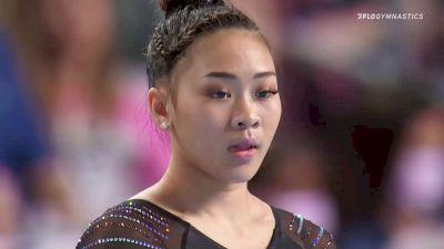 Sunisa Lee - Floor, Midwest Gym - 2021 US Championships Senior Competition International Broadcast