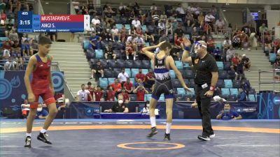 48 kg 1/4 Final - Faraim Mustafayev, Azerbaijan vs Servet AngolaI, Turkey