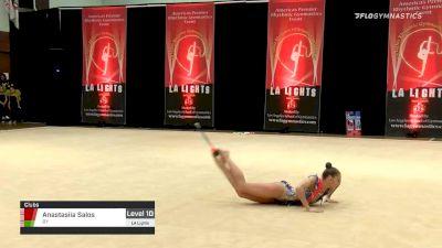 Anastasiia Salos - Clubs, BY - 2020 LA Lights Tournament of Champions