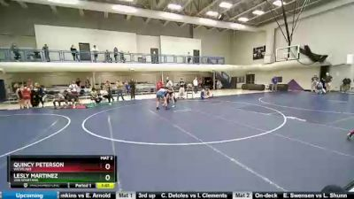 135 lbs Round 3 - Lesly Martinez, 208 Spartans vs Quincy Peterson, Westlake