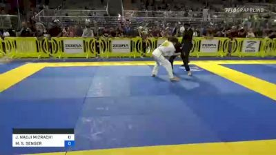 JOSEPH NADJI MIZRACHI vs MARCEL S. SENGER 2021 Pan Kids Jiu-Jitsu IBJJF Championship
