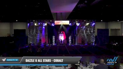 Dazzle U All Stars - Cobalt [2021 L1 Youth - D2 - Small Day 2] 2021 Queen of the Nile: Richmond