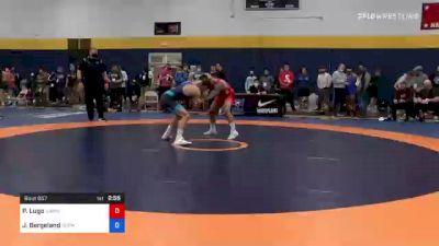 65 kg Round Of 16 - Patricio Lugo, Hawkeye Wrestling Club vs Jakob Bergeland, Gopher Wrestling Club - RTC