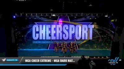 MGA Cheer Extreme - MGA Dark Matter [2021 L5 Senior - D2 Day 2] 2021 CHEERSPORT National Cheerleading Championship