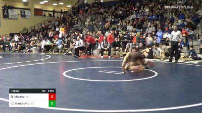 145 lbs Quarterfinal - Dakota Morris, Kingsway vs Cole Handlovic, Bethlehem Catholic