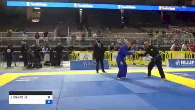 ISRAEL ISALES JR. vs WILLIAM TODD SUDDETH 2021 Pan Jiu-Jitsu IBJJF Championship