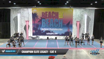 Champion Elite Legacy - Cat 4 [2021 L4 Senior] 2021 Reach the Beach Daytona National