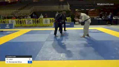 Ramiro Leon vs Ricardo Monsores Silva 2020 IBJJF Orlando International Open Jiu-Jitsu Championship