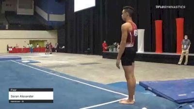 Saran Alexander - Floor - 2021 USA Gymnastics Development Program National Championships