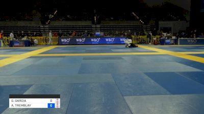 GABRIELLE GARCIA vs ALISON TREMBLAY 2019 Pan Jiu-Jitsu IBJJF Championship