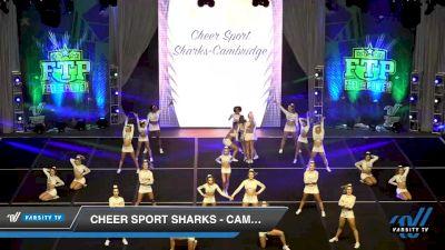 Cheer Sport Sharks - Cambridge - Great White Sharks [2020 L6 International Open Day 2] 2020 Feel The Power East