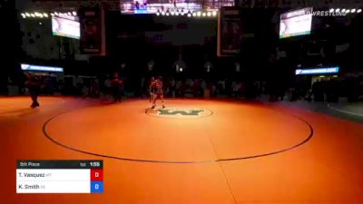 126 lbs 5th Place - Teegan Vasquez, Montana vs Keith Smith, Nebraska