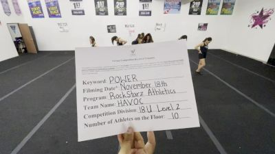 RockStarz Athletics - Havoc [Performance Recreation - 18 & Younger (NON)] Varsity All Star Virtual Competition Series: Event V
