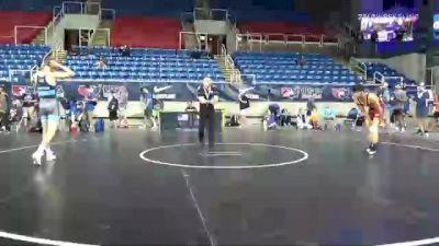 126 lbs Consi Of 8 #1 - Damian Mendez, Kansas vs Tristan Bremer, Idaho