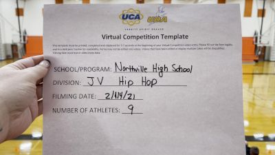 Northville High School [Junior Varsity - Hip Hop] 2021 UDA Spirit of the Midwest Virtual Challenge