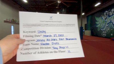 Jersey All Stars East Brunswick - Voodoo Dolls [L1.1 Tiny - PREP] 2021 Mid Atlantic Virtual Championship