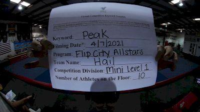 Flip City All Stars - HAIL [L1 Mini] 2021 The Regional Summit Virtual Championships