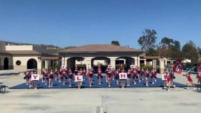 Yorba Linda High School [High School - Band Chant - Cheer] 2021 USA Spirit & Dance Virtual National Championships