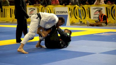 Luan Andrei Passes Half Guard Straight Into Armbar
