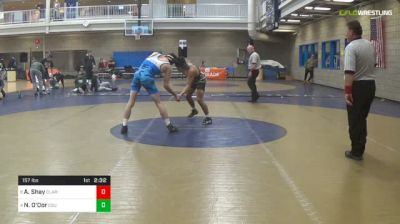 157 lbs 3rd Place - Avery Shay, Clarion Unattached vs Nico O'Dor, Cleveland State University