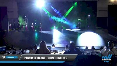 Power of Dance - Come Together [2021 Senior - Pom - Large Day 2] 2021 CSG Dance Nationals