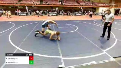 160 lbs Rr Rnd 5 - Easton DeJong, Miles City Wrestling vs Riley Benson, Stevens Raider Wrestling