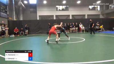 65 kg Prelims - Hagen Heistand, Sebolt Wrestling Academy vs Joshua Edmond, Tiger Style Wrestling Club