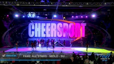 FAME All Stars - Midlo - Super Seniors [2020 International Open 6 Day 1] 2020 CHEERSPORT National Cheerleading Championship