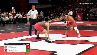 174 lbs Prelims - Kaleb Romero, Ohio State vs Willie Scott, Rutgers
