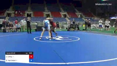 138 lbs Consi Of 8 #1 - Jj Long, Oklahoma vs Evan Herriman, Michigan