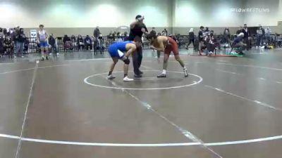57 kg Consolation - Marcus Castillo, Arkansas RTC vs Timothy Levine, Unattached