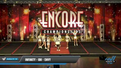 Infinity - OH - Envy [2021 L4.2 Senior - D2 Day 1] 2021 Encore Championships: Pittsburgh Area DI & DII