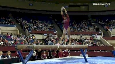 Lynnzee Brown - Beam, Denver - 2020 Metroplex Challenge