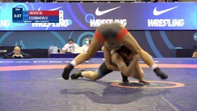 61 kg 1/8 Final - Wilma Paulina Skoog, Sweden vs Ulmeken Esenbaeva, Uzbekistan