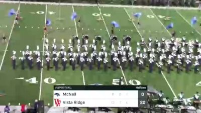 Replay: Mcneil HS vs Vista Ridge HS - 2021 McNeil vs Vista Ridge | Sep 17 @ 7 PM