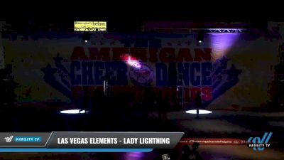 Las Vegas Elements - Lady Lightning [2021 L2 Youth - D2 - Small Day 1] 2021 The American Celebration DI & DII