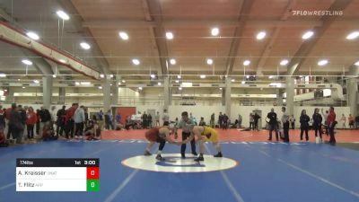 Quarterfinal - Austin Kraisser, Unattached-Campbell vs Thomas Flitz, Appalachian State